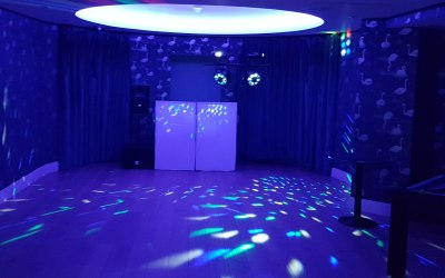 Disco party in London