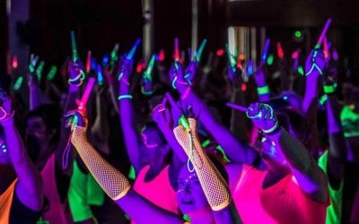 UV Neon Glow Parties