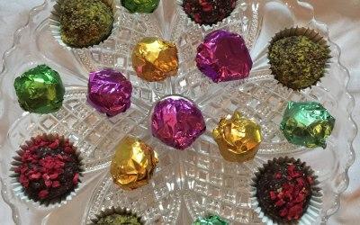 Sweet treats made from Raw Chocolates
