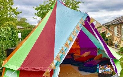 Rainbow Tent