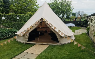 Sandstone Tent