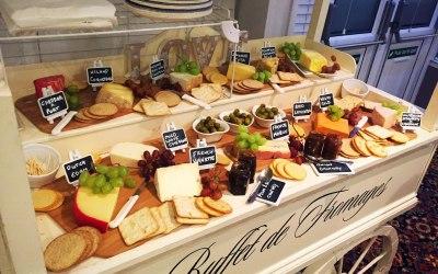 Luxury cheese cart