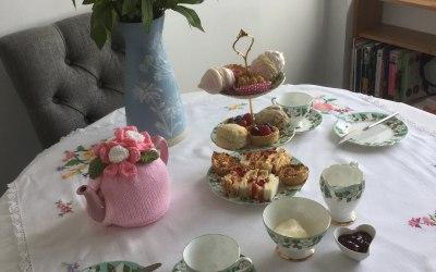 Vintage Afternoon Tea for 2