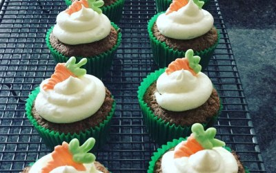 The most moist Carrot Cake Cupcakes