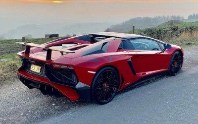Lamborghini Aventador Roadster SV (red)