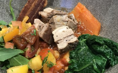 Belly of Pork on Butter Beans
