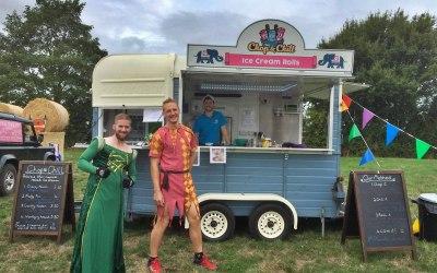 Run festivals need ice cream too!
