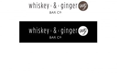 Whiskey & Ginger Bar Co. Logo