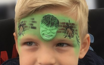 Watts Face Painting 2