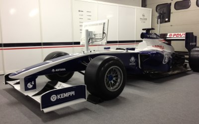 Williams F1 sponsors event