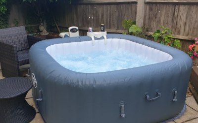 Book our brand new hot tub for your event.