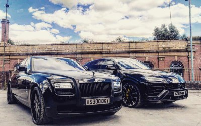 Rolls Royce Ghost x Lamborghini Urus