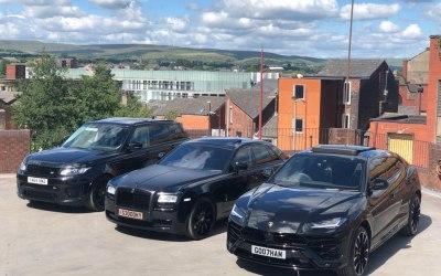 Range Rover SVR, Rolls Royce Ghost, Lamborghini Urus
