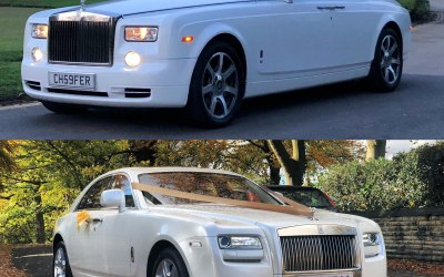 Rolls Royce Phantom and Ghost