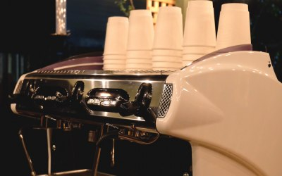 The workings our La Spaziale coffee machine