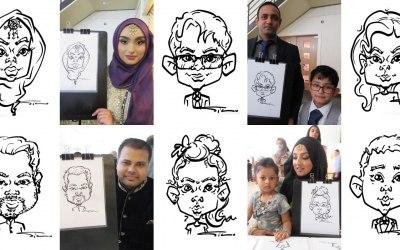 Silu Design Studio - Quick Cute Portraits for Your Event 8