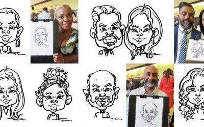 Silu Design Studio - Quick Cute Portraits for Your Event 5