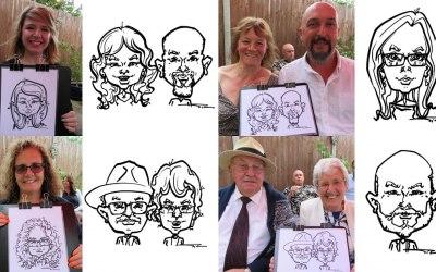 Silu Design Studio - Live Caricature 5