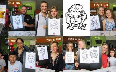 Silu Design Studio - Live Caricature 6