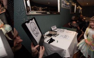 Silu Design Studio - Live Caricature 8
