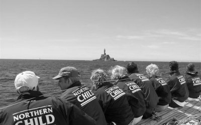 Crew Sailing team jackets for Fastnet Race