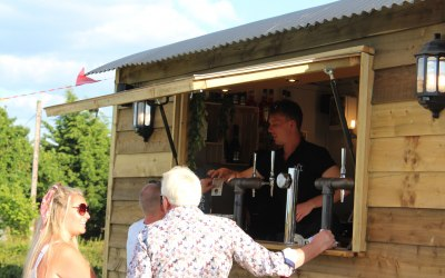 George serving at a previous event in Shropshire