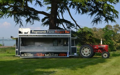 Our new catering trailer