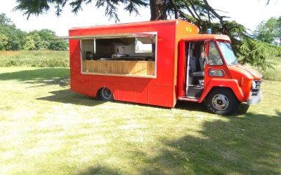 Our converted 1970's Commer Fire Truck