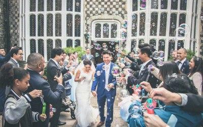 Wedding is in London