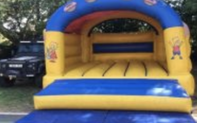 One of our inflatables