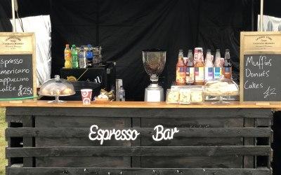 Pop up Coffee Bar