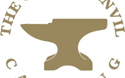 Our logo - the anvil represents our trade
