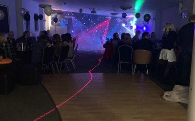 Large lighting setup for an event