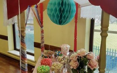Birthday Candy Cart