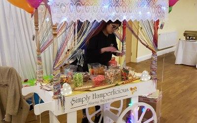 Candy Cart set up