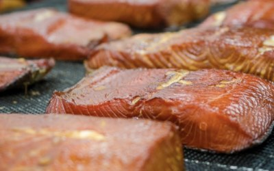 In-house Smoked Filet of Salmon