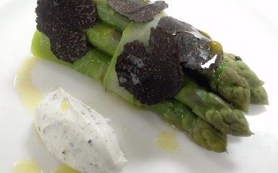Asparagus Truffle Cream