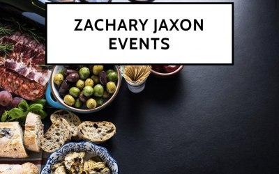 Zachary Jaxon Events 1