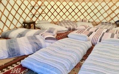 Sleepovers and slumber parties in a yurt