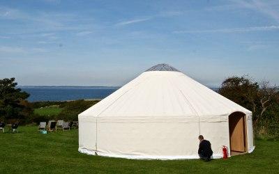 Wedding Yurt in Anglesey