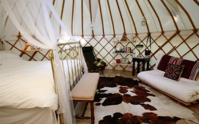 Wedding Night Yurt from Roundhouse