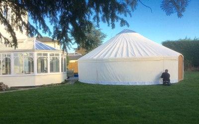Yurt in York 28ft Roundhouse Yurt