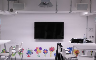 Installed new sound system into Great Ormond Street Hospital Charity