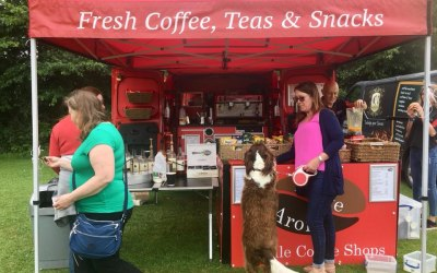 Supprting the DAWG dog show Stoke Gifford