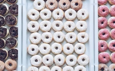 Wedding Doughnuts - GF, V