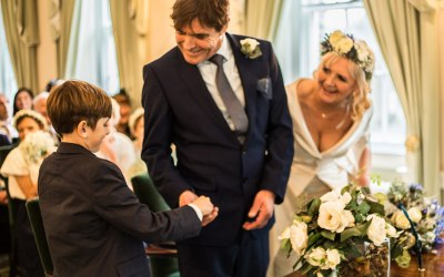 Charlie steps up as Best Man