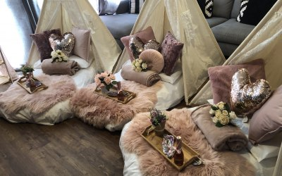 Sleepover fit for a bride