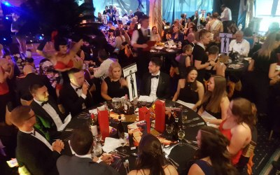 Corporate functions, fundraisers and gala dinners