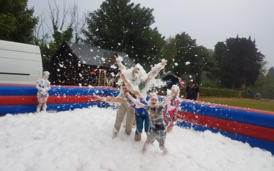 Foam party fun for all events and ages