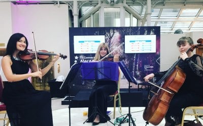 Niche London String Trio perform at Awards Ceremony
